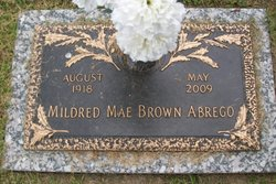 Mildred Mae <i>Brown</i> Abrego