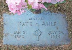 Kate H. <i>Heinbockel</i> Ahlf