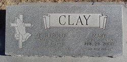 Mary <i>Traynor</i> Clay