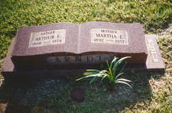 Martha E. <i>Barnhart</i> Arndt