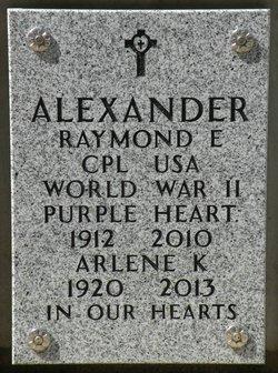 Arlene Katherine Alexander