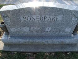 Margaret <i>Evans</i> Bonebrake