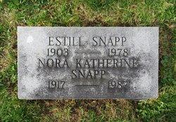 Nora Lee Katherine Kitty <i>Maupin</i> Snapp
