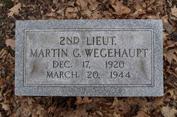 Lieut Martin G Wegehaupt