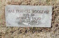 Mae Frances <i>Woolever</i> Davies