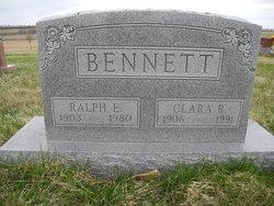 Clara R <i>Ellison</i> Bennett