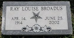 Ray Louise <i>Conner</i> Broadus