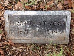 Elizabeth <i>Adcock</i> Thacker