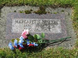 Margaret Julia Maggie <i>Hartzell</i> Bascom