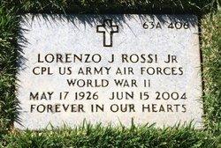 Lorenzo J Rossi, Jr