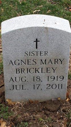 Sr Agnes Mary Winifred Brickley