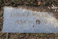 Lydia Agnes <i>Holley</i> Wilson