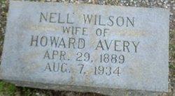 Nell <i>Wilson</i> Avery
