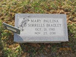Mary Paulina <i>Sorrells</i> Bradley