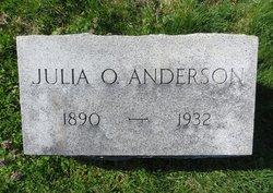 Julia <i>Ockerman</i> Anderson