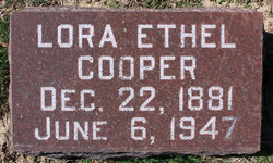 Lora Ethel <i>Garrison</i> Cooper