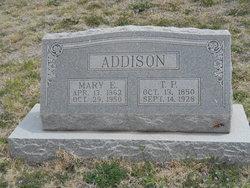 Mary Elizabeth <i>McCoy</i> Addison