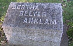Bertha <i>Belter</i> Anklam
