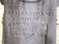 Lucilla Pinckney <i>Parker</i> Quincy