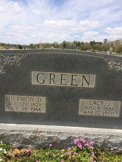 Lacy <i>James</i> Green