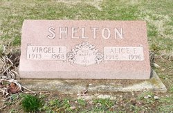 Alice Ena <i>Hensley</i> Shelton