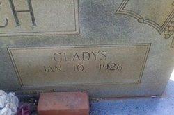 Gladys <i>Bentley</i> Couch