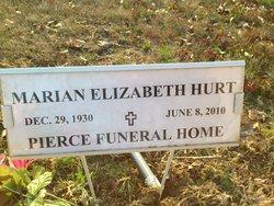 Marian Elizabeth <i>Weaver</i> Hurt