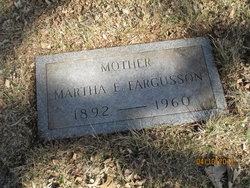 Martha Elizabeth <i>Messenger</i> Fargusson