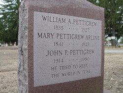 Mary <i>Pettigrew</i> Arline