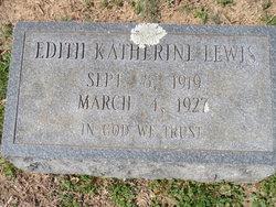 Edith Katherine Lewis