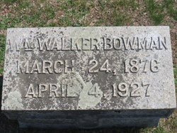William Walker Bowman