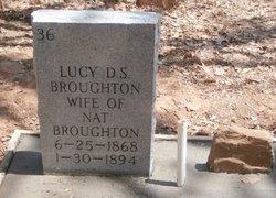 Lucy F <i>Whatley</i> Broughton
