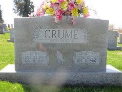Sarah Lou <i>Gash</i> Crume