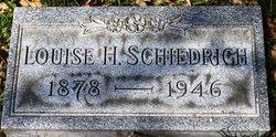 Louisa H <i>Mehring</i> Schiedrich