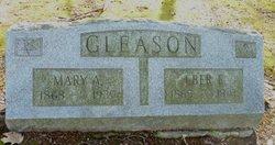 Mary A. <i>Knapp</i> Gleason