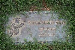 Barbara Elaine <i>Bailey</i> Allen