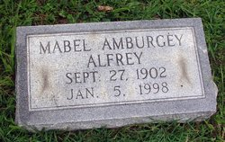 Mabel Beatrice <i>Amburgey</i> Alfrey