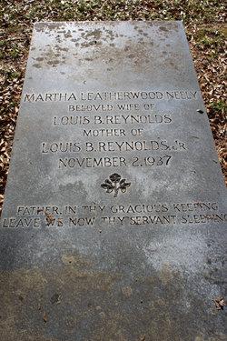 Martha Leatherwood <i>Neely</i> Reynolds