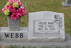 Ollie Mae Webb