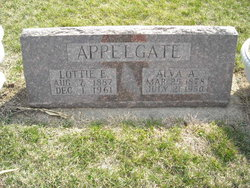 Charlotte Elizabeth Lottie <i>Yetley</i> Appelgate
