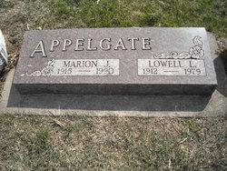 Marion Jeanette <i>Christenson</i> Appelgate