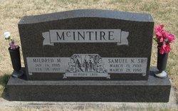 Mildred Maxine <i>Mogan</i> McIntire
