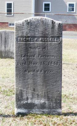 Rachel K <i>Russell</i> Parsons