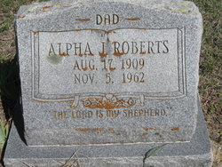 Alpha James Roberts