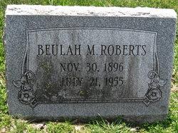 Beulah M. Roberts