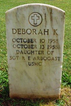 Deborah K Arbogast