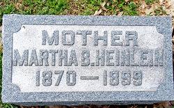 Martha Isabella <i>Schnorr</i> Heinlein