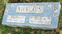 Alice M. Nicklaus