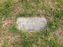 Mary Elizabeth <i>Pope</i> Hooper