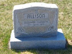 Josephine Elizabeth <i>White</i> Allison